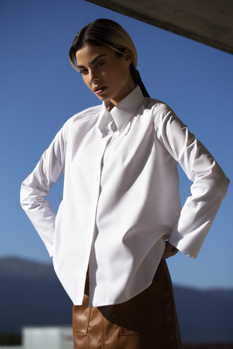 chemise chloe profil capsule en coton ©JohannSauty